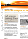 AG1 - WWRO Antiscalant Replaces Acid Dosing - Application Guides